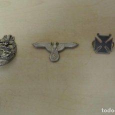 Militaria: TRES INSIGNIAS ALEMANAS. Lote 262092200