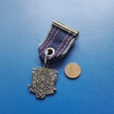 Militaria: MEDALLA CON PASADOR, ESCUDO A IDENTIFICAR. Lote 262118465