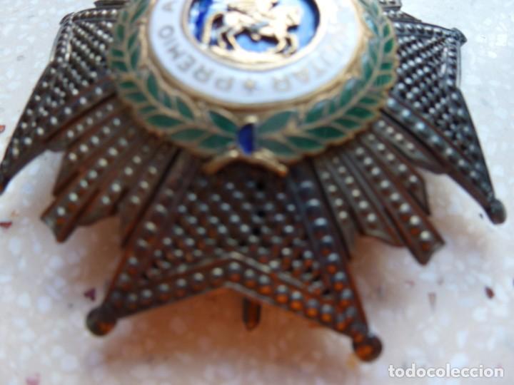 Militaria: Alfonso XIII. Premio Medalla Placa a la Constancia Militar. San Hermenegildo. Plata. - Foto 8 - 262427010