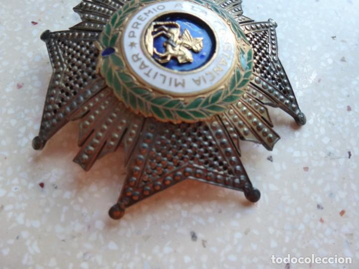 Militaria: Alfonso XIII. Premio Medalla Placa a la Constancia Militar. San Hermenegildo. Plata. - Foto 11 - 262427010