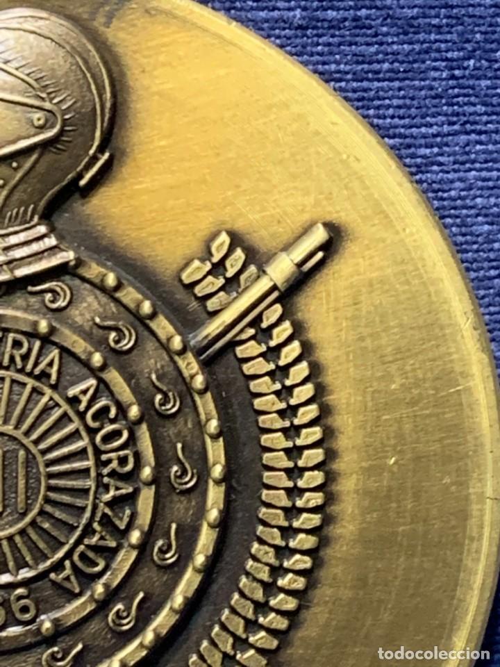 Militaria: MEDALLA XXV ANIVERSARIO BRIAC BRIGADA DE INFANTERIA ACORAZADA XII 1966 1991 APRISA DURO LEJOS 8CMS - Foto 5 - 262440935