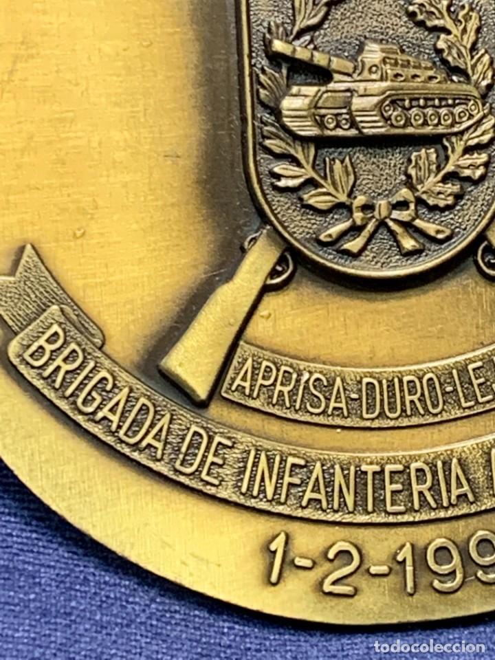 Militaria: MEDALLA XXV ANIVERSARIO BRIAC BRIGADA DE INFANTERIA ACORAZADA XII 1966 1991 APRISA DURO LEJOS 8CMS - Foto 10 - 262440935