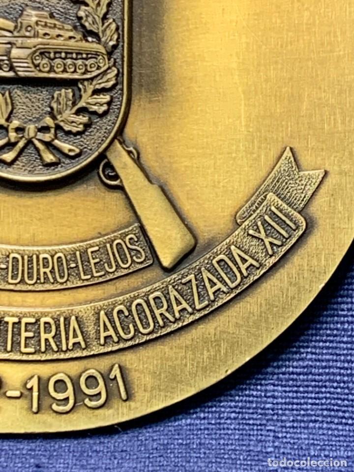 Militaria: MEDALLA XXV ANIVERSARIO BRIAC BRIGADA DE INFANTERIA ACORAZADA XII 1966 1991 APRISA DURO LEJOS 8CMS - Foto 11 - 262440935