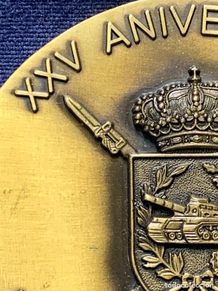Militaria: MEDALLA XXV ANIVERSARIO BRIAC BRIGADA DE INFANTERIA ACORAZADA XII 1966 1991 APRISA DURO LEJOS 8CMS - Foto 13 - 262440935