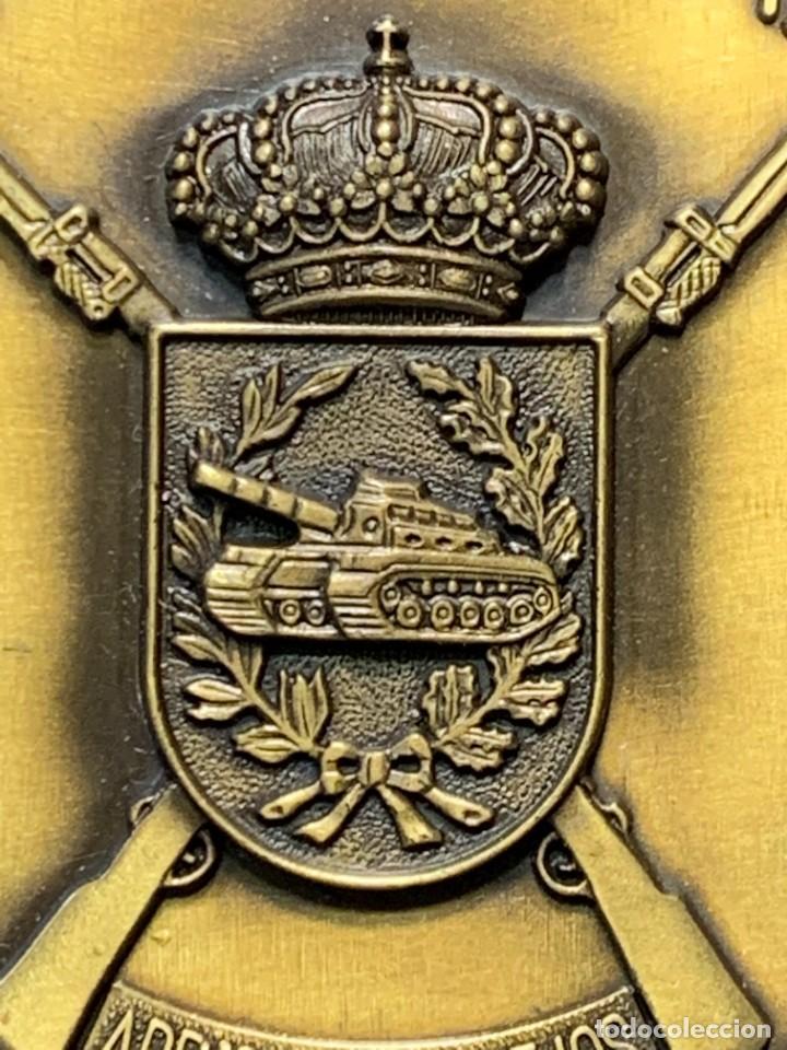 Militaria: MEDALLA XXV ANIVERSARIO BRIAC BRIGADA DE INFANTERIA ACORAZADA XII 1966 1991 APRISA DURO LEJOS 8CMS - Foto 14 - 262440935