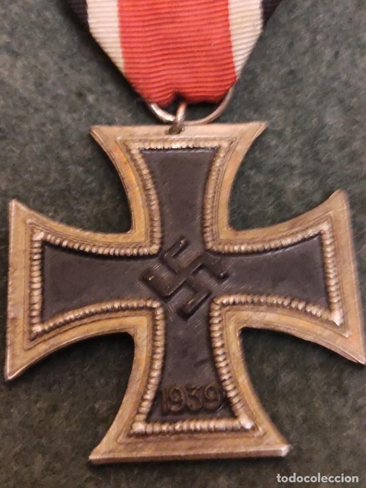 CRUZ DE HIERRO EN LA DIVISIÓN AZUL (Militar - Medallas Españolas Originales )
