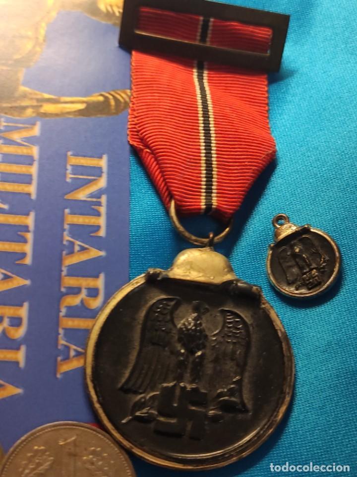 MEDALLA DE LA CAMPANA DE INVIERNO EN LA DIVISIÓN AZUL (Militar - Medallas Españolas Originales )