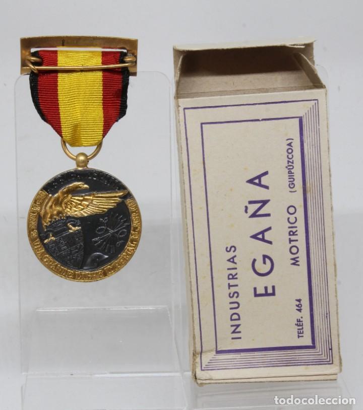 MEDALLA DE LA CAMPAÑA 1936 1939 GUERRA CIVIL LEGION CONDOR EGAÑA ORIGINAL CON CAJA (Militar - Medallas Españolas Originales )