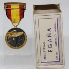 Militaria: MEDALLA DE LA CAMPAÑA 1936 1939 GUERRA CIVIL LEGION CONDOR EGAÑA ORIGINAL CON CAJA. Lote 262885390
