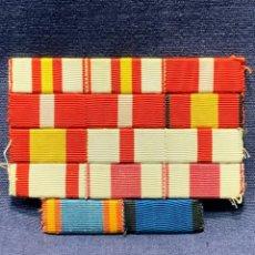 Militaria: ANTIGUO PASADOR MILITAR DIARIO CONDECORACIONES UNIFORME MILITAR PECHO EJÉRCITO ESPAÑOL FRANCO 6,5X9. Lote 263044220