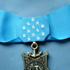 Militaria: US MEDAL OF HONOR NAVY - EJERCITO DE LA MARINA CON CINTA DE CUELLO - MOH - REPLICA. Lote 263096440