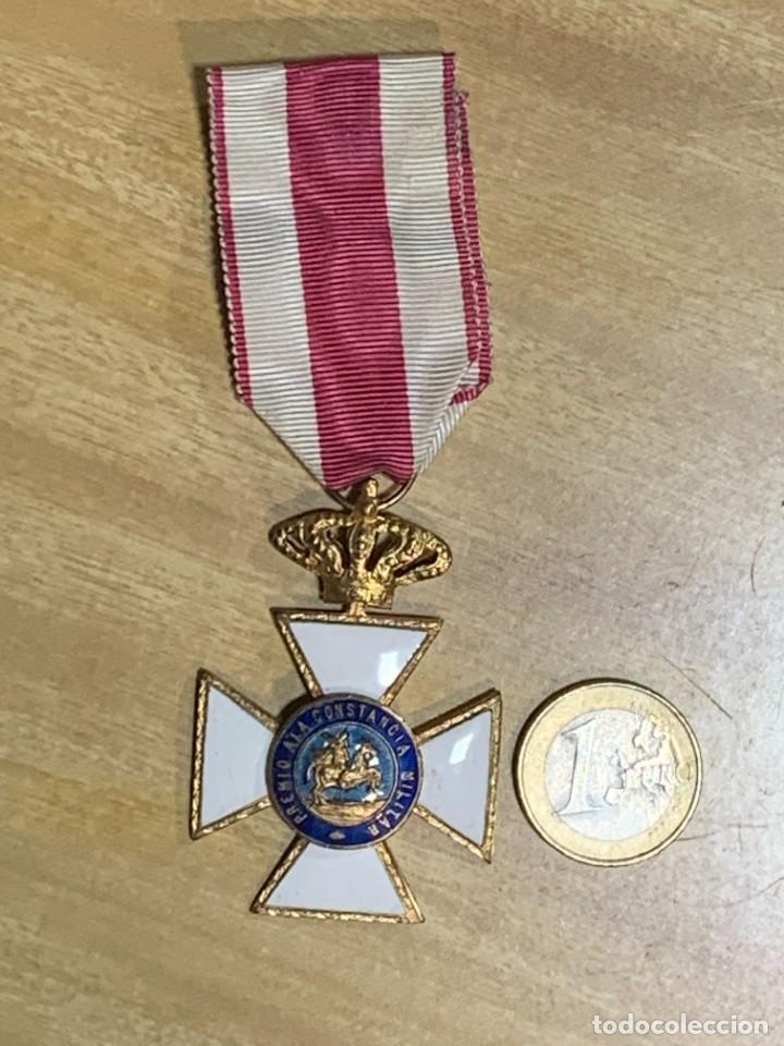 MEDALLA MILITAR SAN HERMENEGILDO CRUZ UNIFACIAL UNA CARA TRANSICION JUAN CARLOS I (Militar - Medallas Españolas Originales )