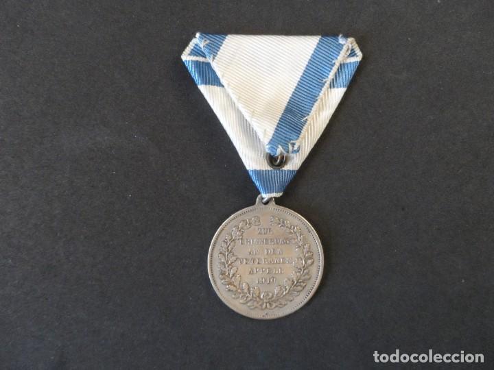 Militaria: MEDALLA WILHEIM II DEUTSCHER KAISER EN MEMORIA DE MI SERVICIO CON EL EMPERADOR 1910.PLATA. II REICH - Foto 4 - 264414344