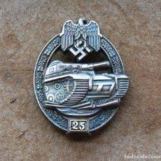 Militaria: INSIGNIA PANZERKAMP. 25 .TERCER REICH.. Lote 264424254