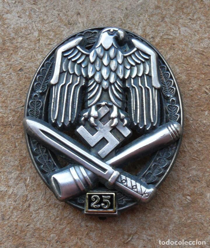 INSIGNIA DE ASALTO GENERAL - 25 ASALTOS. TERCER REICH. (Militar - Reproducciones y Réplicas de Medallas )