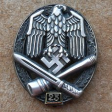 Militaria: INSIGNIA DE ASALTO GENERAL - 25 ASALTOS. TERCER REICH.. Lote 264425099