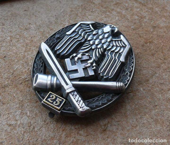Militaria: Insignia de asalto general - 25 asaltos. Tercer Reich. - Foto 2 - 264425099