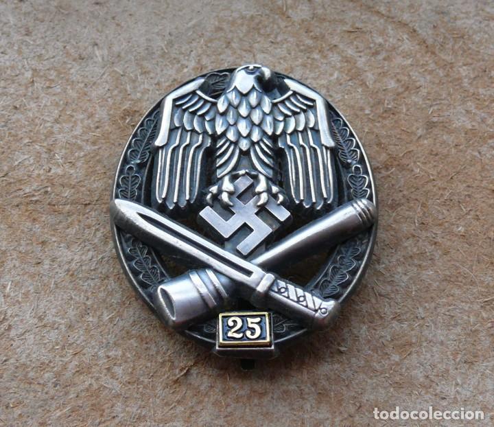Militaria: Insignia de asalto general - 25 asaltos. Tercer Reich. - Foto 5 - 264425099
