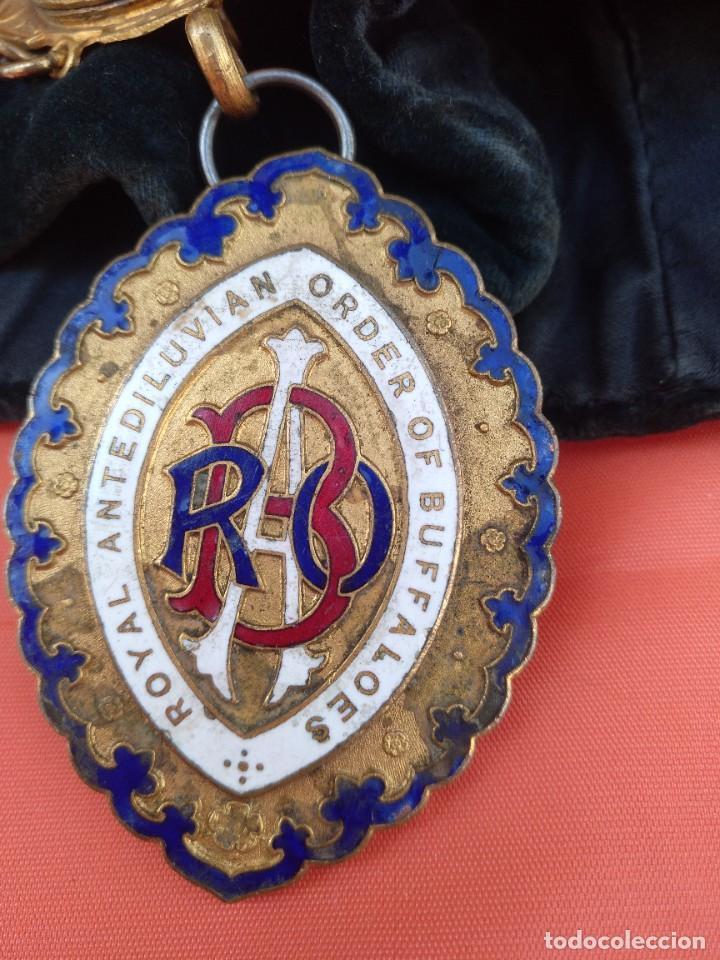 Militaria: Collar ceremonial masónico rito escocés - Foto 2 - 264524214