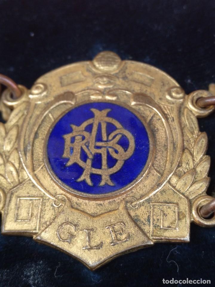 Militaria: Collar ceremonial masónico rito escocés - Foto 5 - 264524214