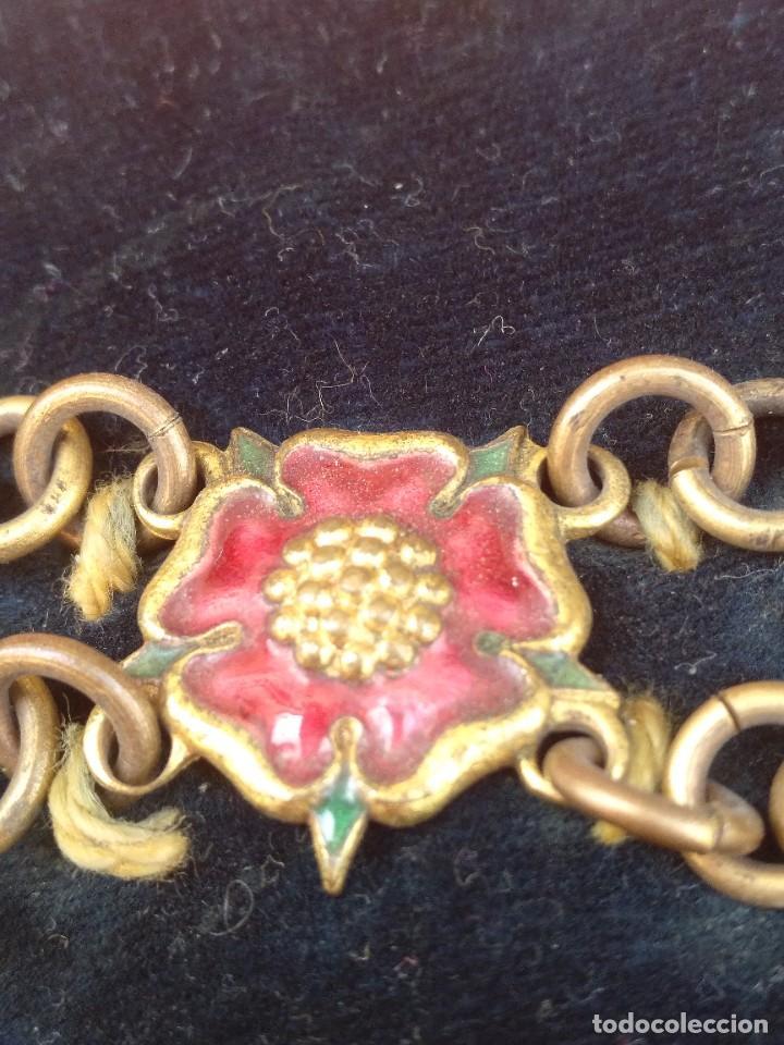 Militaria: Collar ceremonial masónico rito escocés - Foto 6 - 264524214