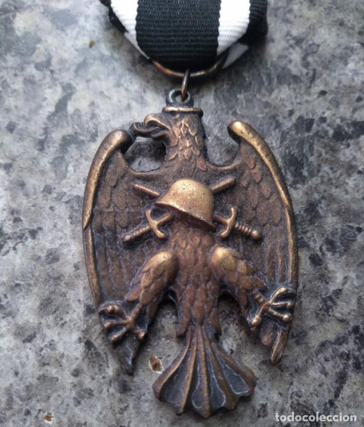 INTERESANTE MEDALLA MILITAR ALEMANIA AGUILA 1934 HEIMWEHR PARAMILITAR EN BRONCE (Militar - Medallas Internacionales Originales)