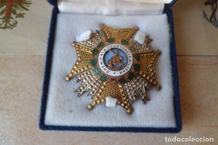 Militaria: GRAN PLACA SAN HERMENEGILDO Y SU CONCESION, GRAL FRANCO. - Foto 2 - 265565729