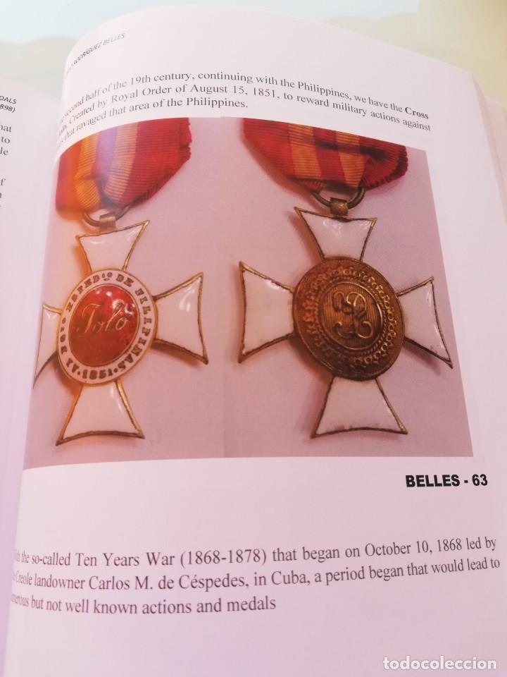 """Militaria: LIBRO Órdenes y medallas de las campañas militares españolas Filipinas y Cuba. PHILIPPINES & CUBA """"S - Foto 7 - 265733729"""