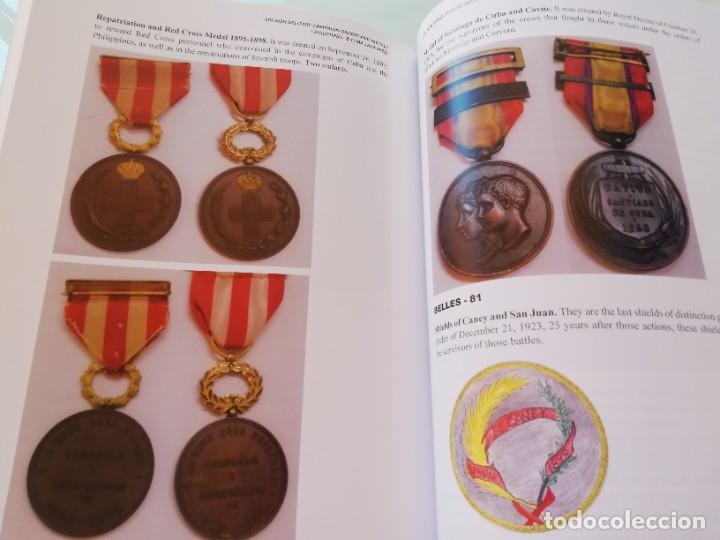 """Militaria: LIBRO Órdenes y medallas de las campañas militares españolas Filipinas y Cuba. PHILIPPINES & CUBA """"S - Foto 9 - 265733729"""