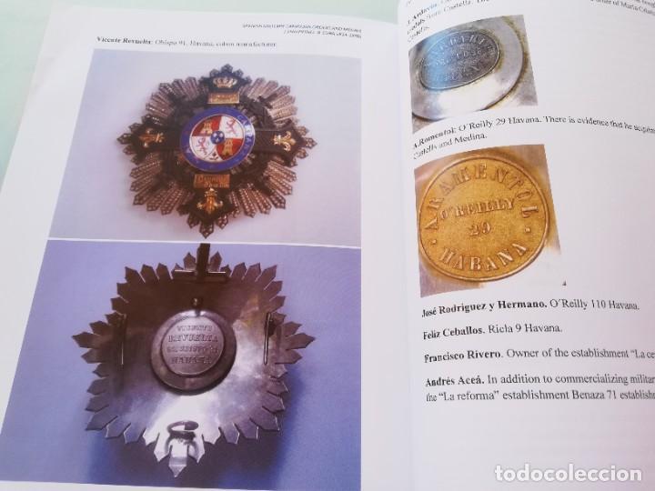 """Militaria: LIBRO Órdenes y medallas de las campañas militares españolas Filipinas y Cuba. PHILIPPINES & CUBA """"S - Foto 12 - 265733729"""