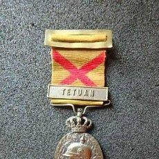 Militaria: (JX-210556)MEDALLA MILITAR DE MARRUECOS(G.C.817)CATEGORÍA PLATA PARA OFICIAL,REALIZADA CASA MEDINA.. Lote 265949953