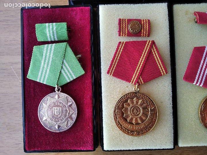 Militaria: Medallas DDR (1949-1990) , colección de 11 medallas originales en muy buen estado. - Foto 5 - 266121483