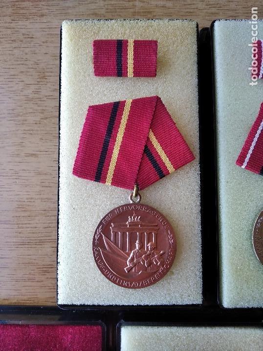 Militaria: Medallas DDR (1949-1990) , colección de 11 medallas originales en muy buen estado. - Foto 15 - 266121483