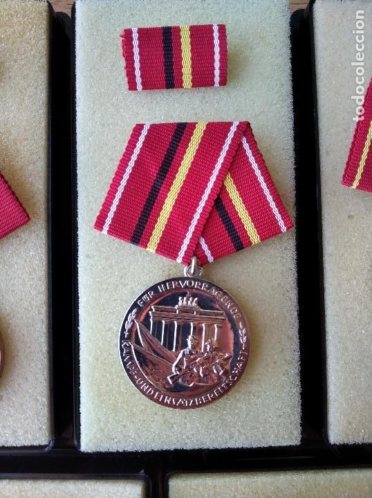 Militaria: Medallas DDR (1949-1990) , colección de 11 medallas originales en muy buen estado. - Foto 16 - 266121483
