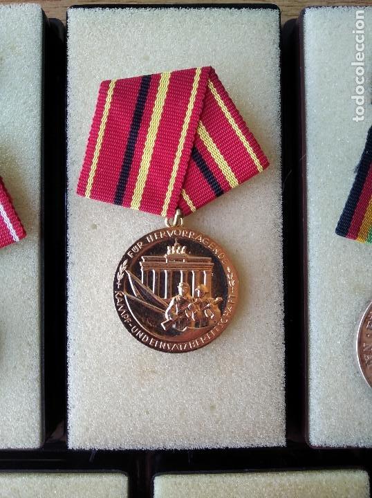 Militaria: Medallas DDR (1949-1990) , colección de 11 medallas originales en muy buen estado. - Foto 17 - 266121483