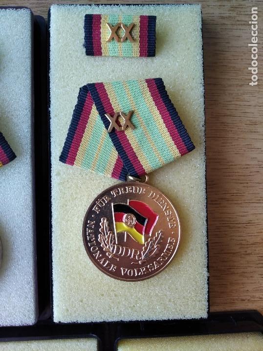 Militaria: Medallas DDR (1949-1990) , colección de 11 medallas originales en muy buen estado. - Foto 19 - 266121483