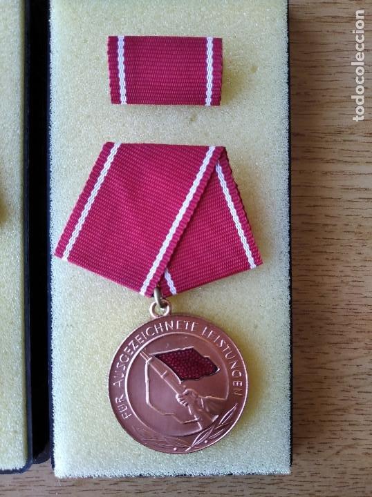 Militaria: Medallas DDR (1949-1990) , colección de 11 medallas originales en muy buen estado. - Foto 20 - 266121483