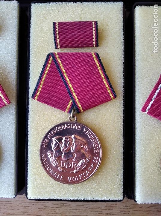 Militaria: Medallas DDR (1949-1990) , colección de 11 medallas originales en muy buen estado. - Foto 21 - 266121483