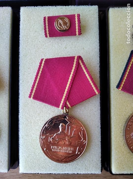 Militaria: Medallas DDR (1949-1990) , colección de 11 medallas originales en muy buen estado. - Foto 22 - 266121483
