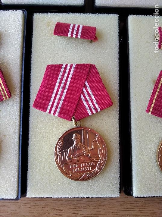 Militaria: Medallas DDR (1949-1990) , colección de 11 medallas originales en muy buen estado. - Foto 23 - 266121483