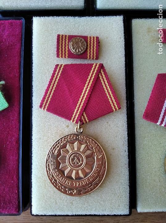 Militaria: Medallas DDR (1949-1990) , colección de 11 medallas originales en muy buen estado. - Foto 24 - 266121483