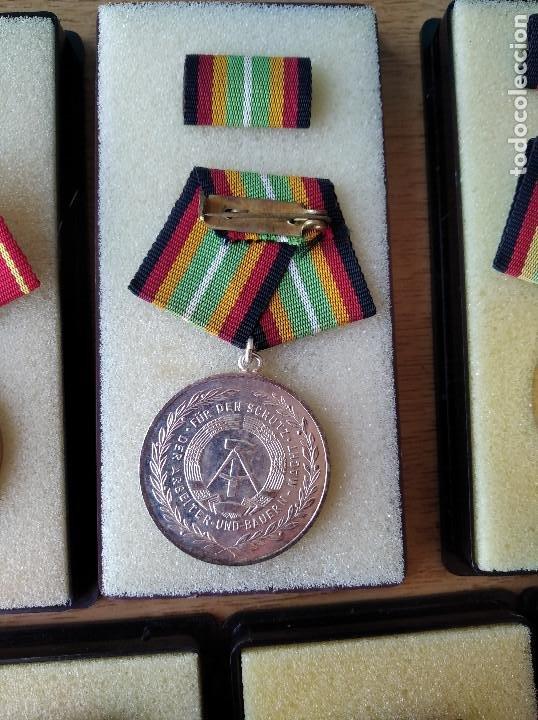 Militaria: Medallas DDR (1949-1990) , colección de 11 medallas originales en muy buen estado. - Foto 28 - 266121483