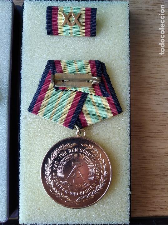 Militaria: Medallas DDR (1949-1990) , colección de 11 medallas originales en muy buen estado. - Foto 29 - 266121483