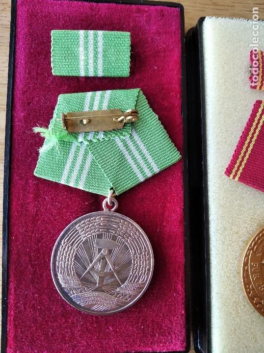 Militaria: Medallas DDR (1949-1990) , colección de 11 medallas originales en muy buen estado. - Foto 30 - 266121483