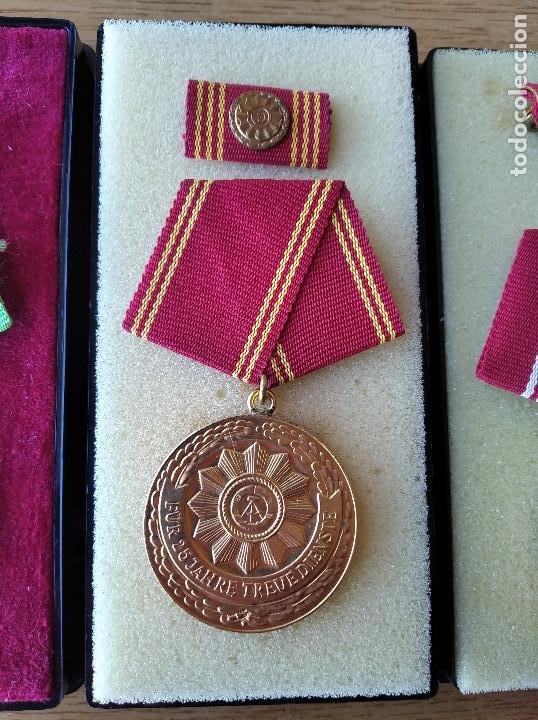 Militaria: Medallas DDR (1949-1990) , colección de 11 medallas originales en muy buen estado. - Foto 31 - 266121483