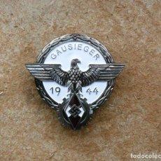 Militaria: INSIGNIA GAUSIEGER 1944 PLATA. Lote 267279269