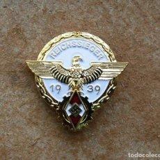 Militaria: INSIGNIA GAUSIEGER 1939 ORO. Lote 290803323