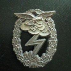 Militaria: INSIGNIA MILITAR DISTINTIVO ATAQUE TERRETRE, LUFTWAFFE. PARTIDO NAZI. GUERRA MUNDIAL. REICH.. Lote 267683049