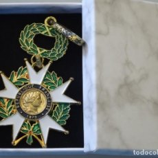 Militaria: MEDALLA MILITAR. REPRODUCCIÓN. FRANCIA. ORDEN NACIONAL LEGIÓN DE HONOR 1870 REPÚBLICA. CON CAJA. Lote 268596919
