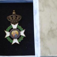 Militaria: MEDALLA MILITAR. REPRODUCCIÓN. GRECIA. ORDEN DEL REDENTOR ORDEN DE SAN SALVADOR. CON CAJA. Lote 268597454
